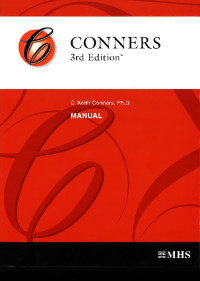 Conners 3rd Edition with DSM-V Scoring Update