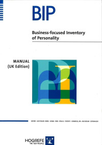 Business-Focused Inventory of Personality