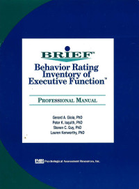 Behaviour Rating Inventory of Executive Function