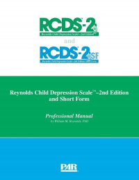 Reynolds Child Depression Scale, Second Edition (RCDS-2)