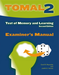Test of Memory and Learning, Second Edition