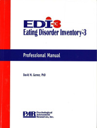 Eating Disorder Inventory, Third Edition